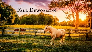 Fall Deworming