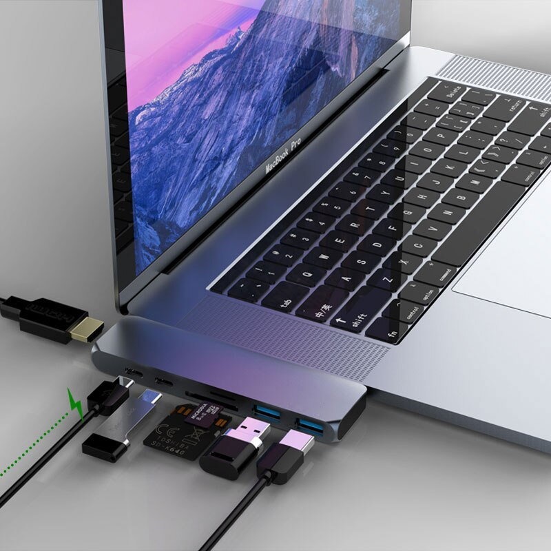 USB-C hub for MacBook