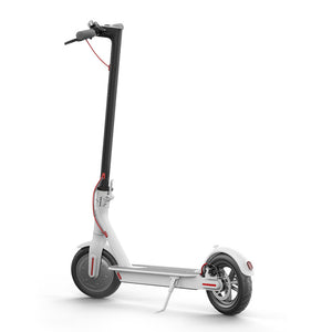 White Xiaomi m365 electric scooter buy from Scooter Hub