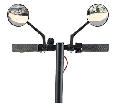 Black Mirrors for Electric Scooter | Scooter Hub