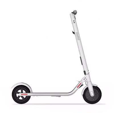 White Ninebot Segway E22 Electric Scooter | Scooter Hub