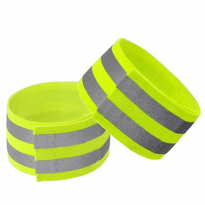 Reflective Arm Bands for riding electric scooter yellow - Scooter Hub