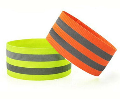 Reflective Arm Bands (Orange)