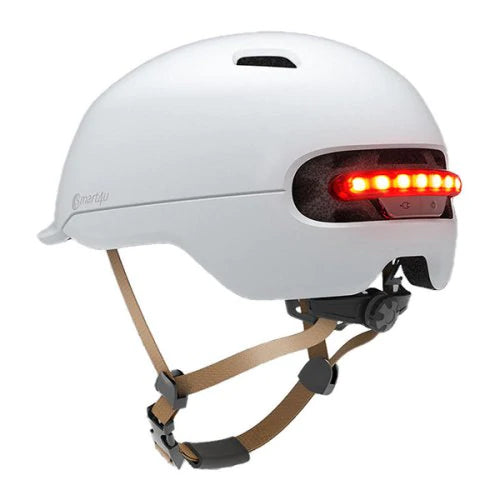New Xiaomi Mi Electric Scooter Smart Helmet (White)