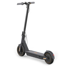 Load image into Gallery viewer, Angled view of Ninebot Max G30 electric scooter buy from Scooter Hub