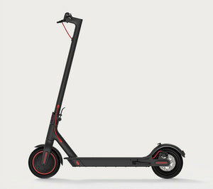 Side view of black Xiaomi Pro escooter buy from Scooter Hub