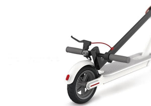 Folded Xiaomi m365 electric scooter buy at Scooter Hub