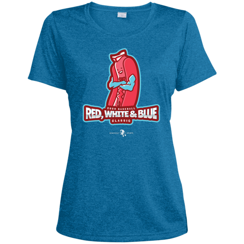 2020 Baseball Red, White & Blue Classic Women's Performance Tee