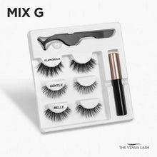 Load image into Gallery viewer, The Venus Lash Magnetic Eyelash & Eyeliner Kit (3 Pairs)