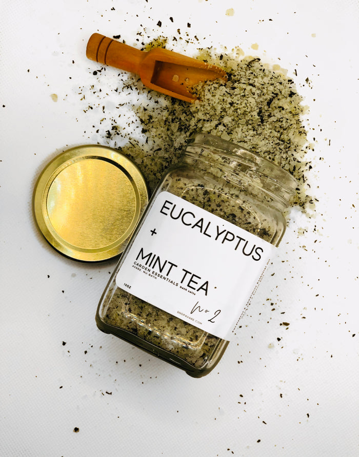 EUCALYPTUS + MINT TEA (10-20oz)