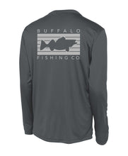 Load image into Gallery viewer, Buffalo Performance Long Sleeve - Graphite