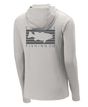 Load image into Gallery viewer, Columbus Performance Sun Hoodie - Silver