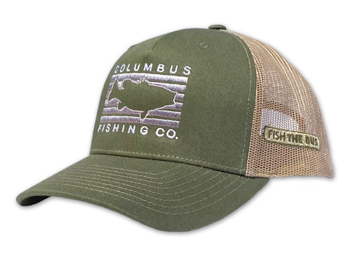 Columbus - Fish Rectangle Hat
