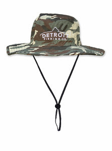 Detroit - Bucket Hat - Camo
