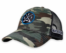Load image into Gallery viewer, Detroit - DET X Hat - Camo / Black
