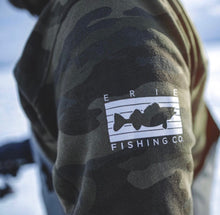 Load image into Gallery viewer, Erie - Fish The 814 - Camo Hoodie