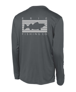 Erie Performance Long Sleeve - Graphite