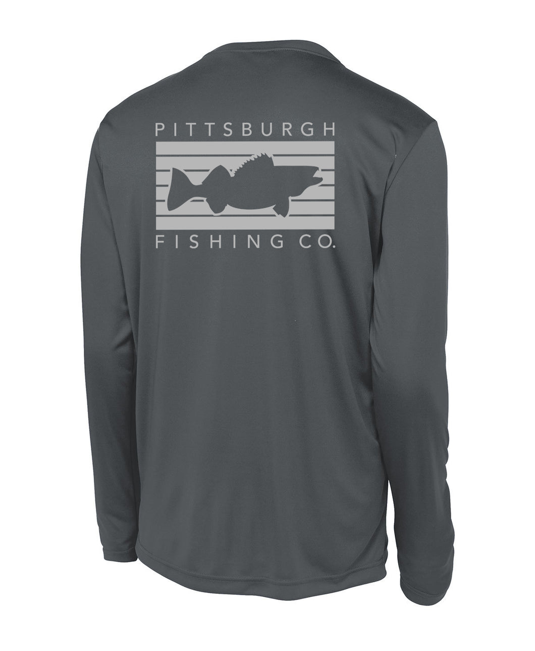 Pittsburgh Performance Long Sleeve - Graphite