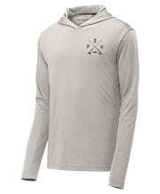 Load image into Gallery viewer, Pittsburgh Performance Sun Hoodie - Silver