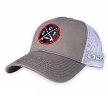 Load image into Gallery viewer, Buffalo - BUF X Hat - Charcoal / White