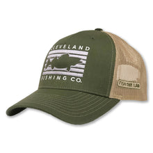 Load image into Gallery viewer, Cleveland - Fish Rectangle Hat