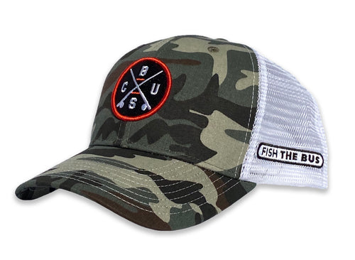 Columbus - CBUS X Hat - Camo / White