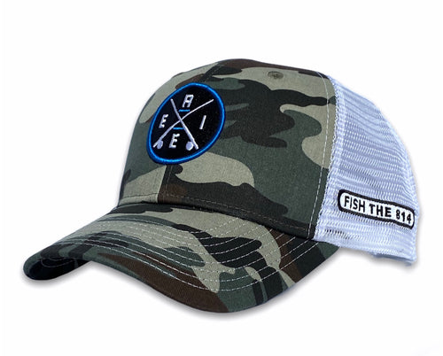 Erie - ERIE X Hat - Camo / White