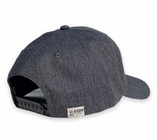 Load image into Gallery viewer, Detroit - Fishtail D Hat - Dark Heather