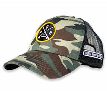 Load image into Gallery viewer, Pittsburgh - PGH X Hat - Camo / Black