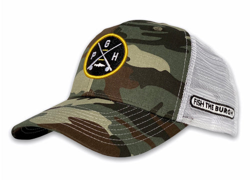 Pittsburgh - PGH X Hat - Camo / White