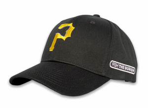 Pittsburgh - Fishtail P Hat - Black