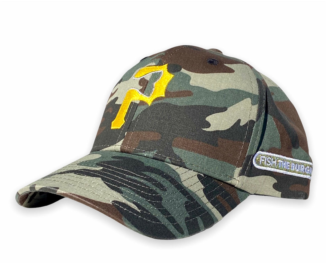 Pittsburgh - Fishtail P Hat - Camo