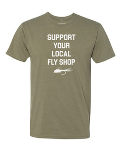 Support Your Local Fly Shop Tee