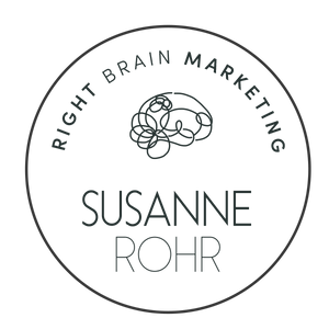 Logo Susanne Rohr Right Brain Marketing