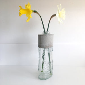 Highland Park whisky bottle vase