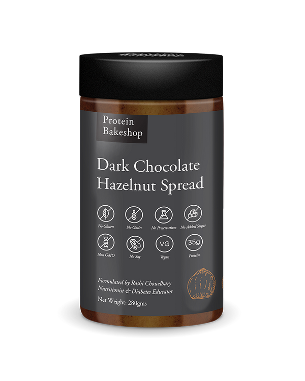 Dark Chocolate Hazelnut Spread (Vegan)
