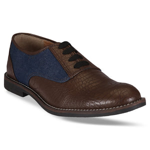 Rothko Denim Brogues