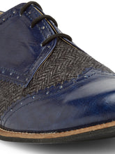 Load image into Gallery viewer, Blue Tweed - Oxfords