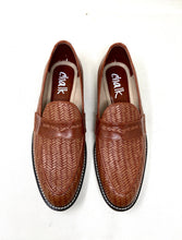 Load image into Gallery viewer, Karl Tan Woven Loafers