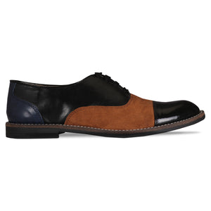Patent Black Brogues