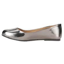 Load image into Gallery viewer, Lustre: Gunmetal Flats