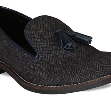 Load image into Gallery viewer, Bismans Tweed Loafers