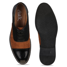 Load image into Gallery viewer, Patent Black Brogues
