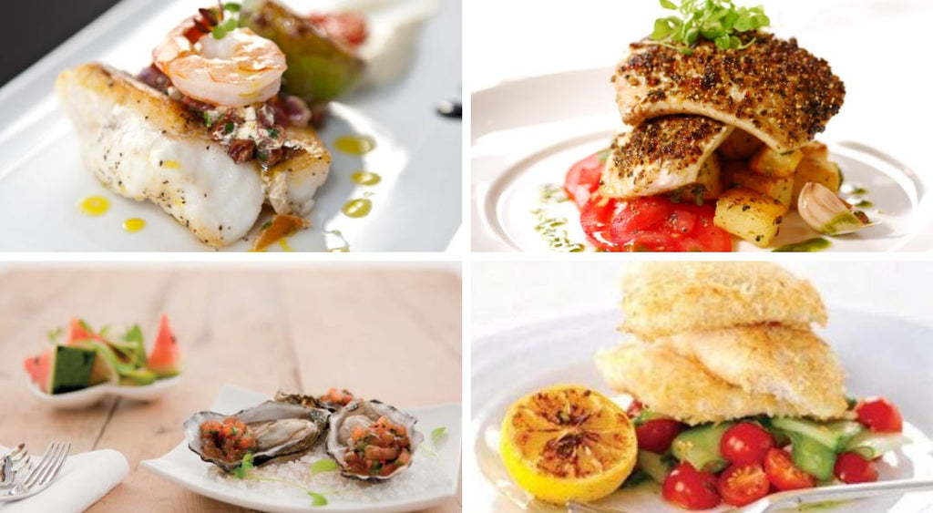 Selection of fish recipe images