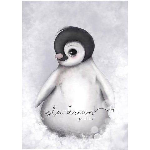 "Poster ""Pinguin Romeo"" - A3"