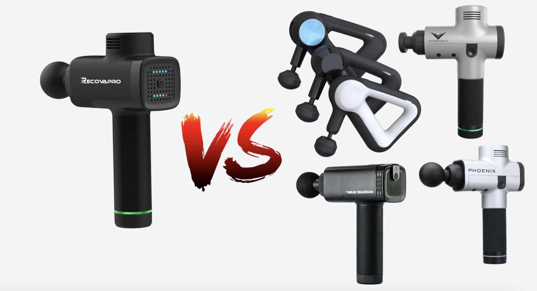 Recovapro vs Hypervolt , Theragun & other Massage gun