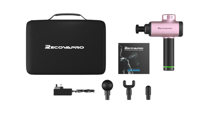 PINK RECOVAPRO  - The Best Percussion Massage Device