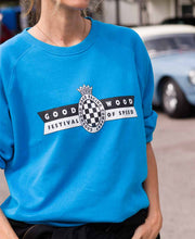 Load image into Gallery viewer, Festival of Speed Racing Colours Sweatshirt Blue