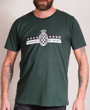 Load image into Gallery viewer, Festival of Speed Racing Colours T-Shirt Green and Yellow Men's