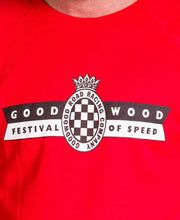 Load image into Gallery viewer, Festival of Speed Racing Colours Sweatshirt Red